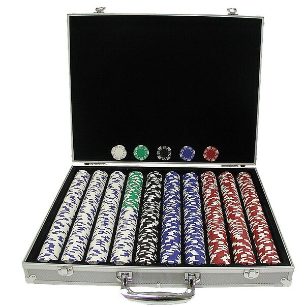 Royal Suited Poker Chip by Trademark Global