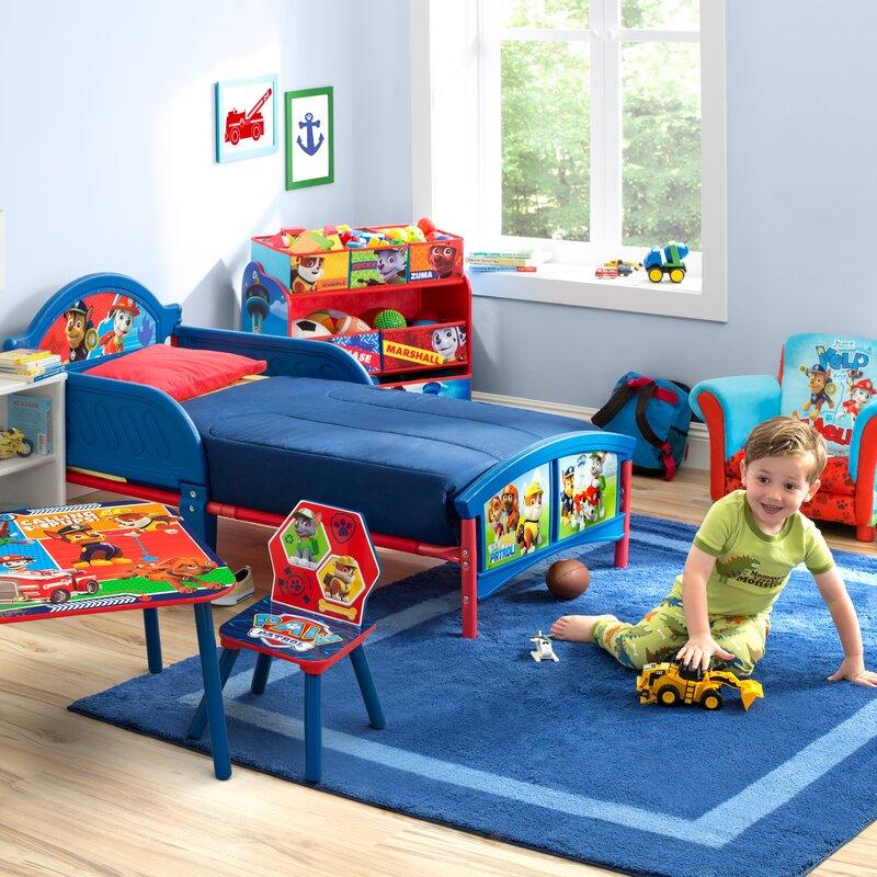 deltachildren bett paw patrol mit 2 gel ndern 77 cm x 145 cm bewertungen. Black Bedroom Furniture Sets. Home Design Ideas