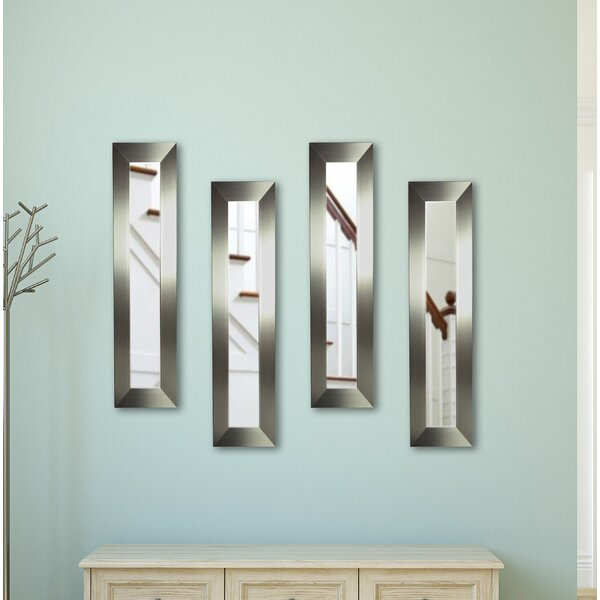 3 Piece Scioli Wide Panels Mirror Set (Set of 4) by Latitude Run