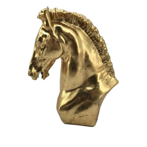 Decorative Resin Horse Head Bust by Donny Osmond Home
