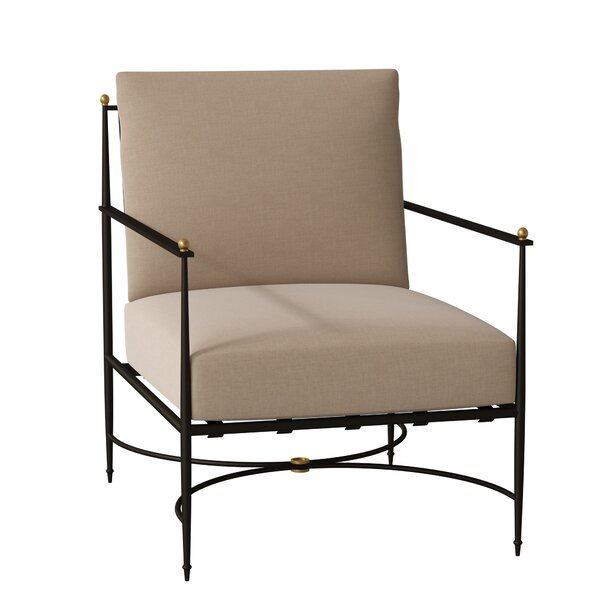 Roma Patio Chair with Cushion by Summer Classics