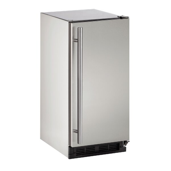 Reversible Stainless Steel 15-inch 2.9 cu. ft. Undercounter Refrigeration by U-Line