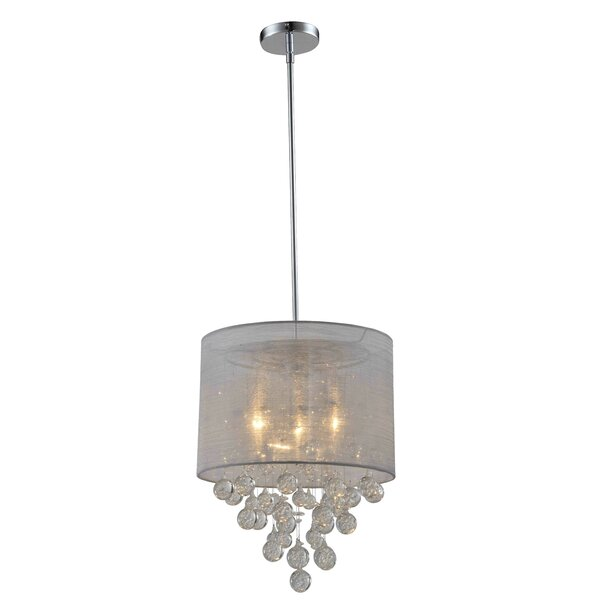 Foust 3-Light Chandelier By House Of Hampton