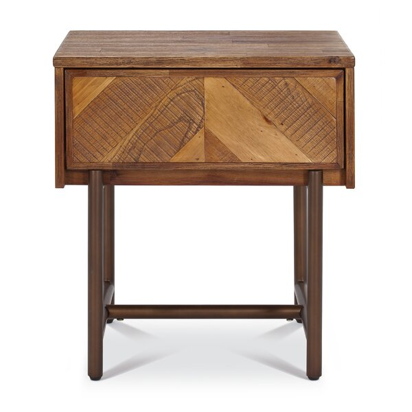 Bove 1 Drawer Nightstand by Foundry Select