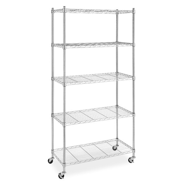 Supreme 60 5 Shelf Shelving Unit by Whitmor, Inc