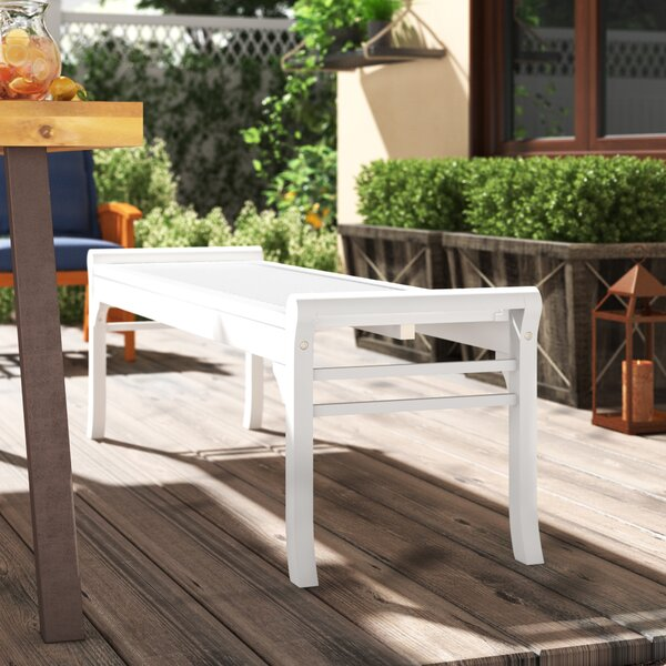 Mahler Wood Picnic Bench by Darby Home Co