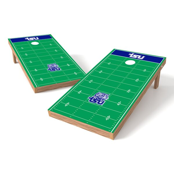 NCAA Football Field College Tennessee State Cornhole Game Set by Tailgate Toss