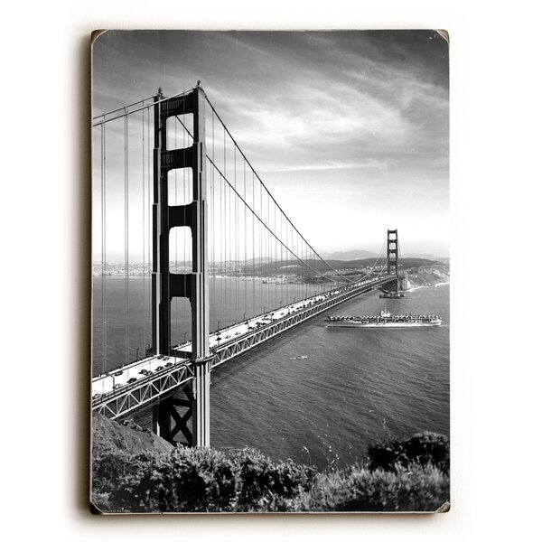 1937 San Francisco Golden Gate Bridge Vintage Advertisement by Artehouse LLC