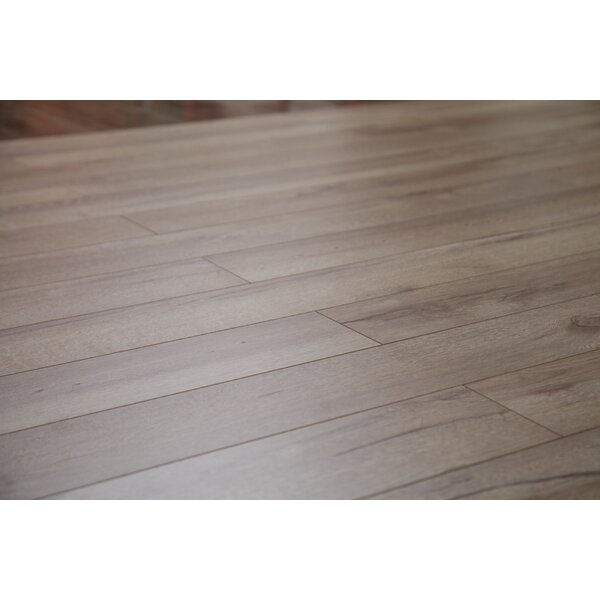 Country 47.85 x 4.96 x 12mm Laminate Flooring in Natural Oak by Dekorman