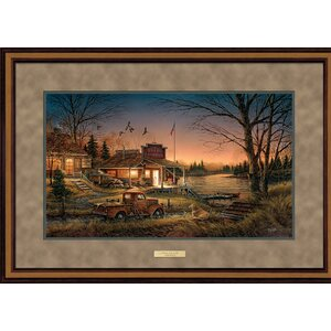 Total Comfort by Terry Redlin Framed Painting Print by Wild Wings
