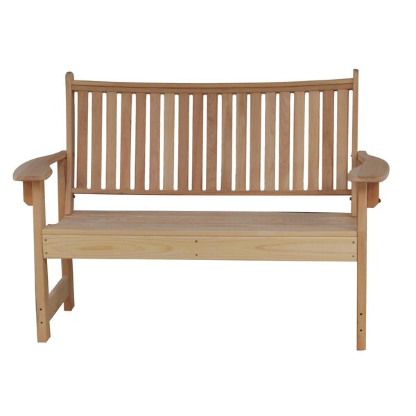 Stier Cypress Garden Bench by August Grove