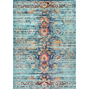 Sykora Blue Area Rug