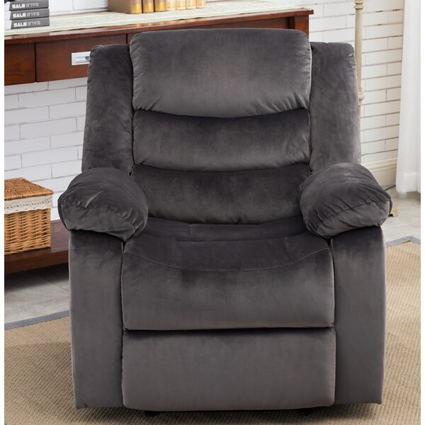 Bismarck Manual Recliner by Alcott Hill