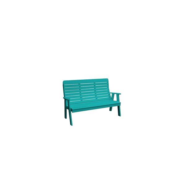 4' Winston Garden Bench by A&L Furniture A&L Furniture