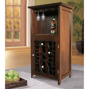Great Sheryl 20 Bottle Floor Wine Cabinet