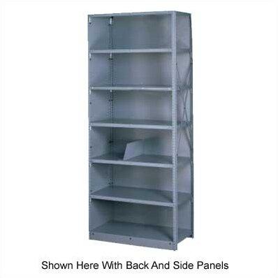 Q Line Open 7 Shelf Shelving Unit Starter by Tennsco Corp.