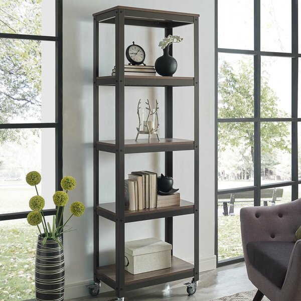 Barrow Gurney Etagere Bookcase by Wrought Studio