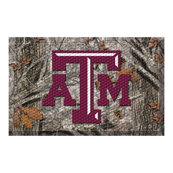 Texas A&M University 30 in. x 19 in. Non-Slip Outdoor Door Mat