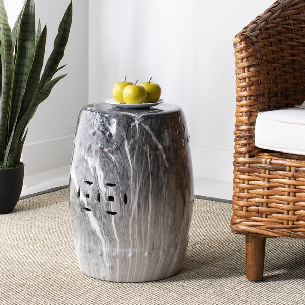Javier Marble Garden Stool by Mercer41