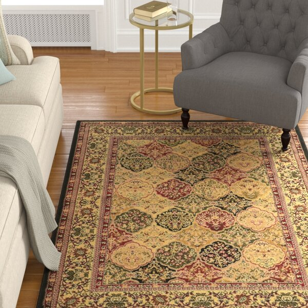 Ardella Red/Brown Area Rug by Astoria Grand