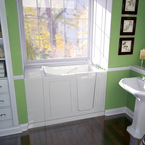 48 x 28 Walk-in Whirlpool Bathtub by American Standard