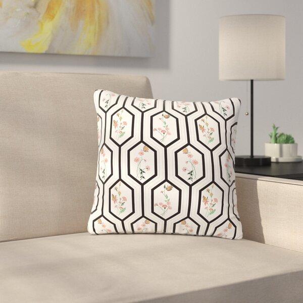 DLKG Design Eden Outdoor Throw Pillow by East Urban Home