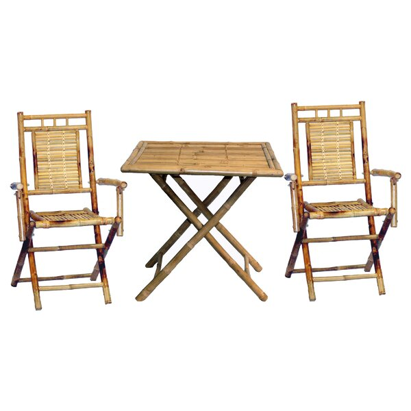 Karaman 3 Piece Dining Set by Bay Isle Home