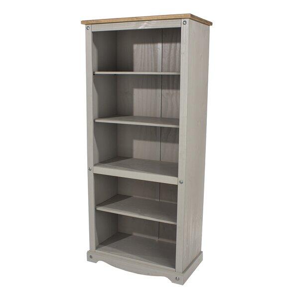 Cheney Wood 5 Shelf Standard Bookcase By Gracie Oaks