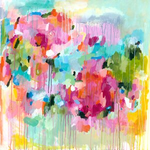 Flying Faith by Lesley Grainger Painting Print on Wrapped Canvas by GreenBox Art
