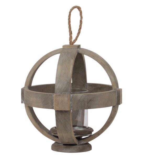 Wood Lantern by Gracie Oaks