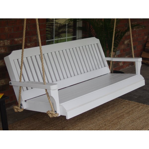 Ola Rope Porch Swing By Highland Dunes by Highland Dunes Discount