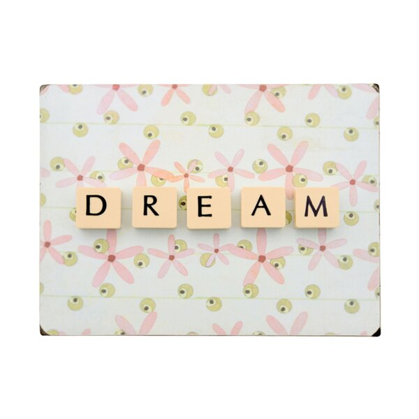 Dream Letter Photographic Print on Wood by Artehouse LLC