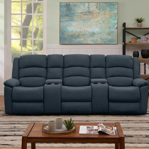 Dashing Romriell Reclining Sofa by Red Barrel Studio by Red Barrel Studio