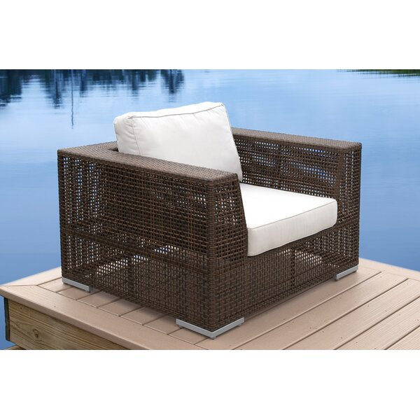 Ferraro Patio Chair with Cushions by Andover Mills Andover Mills