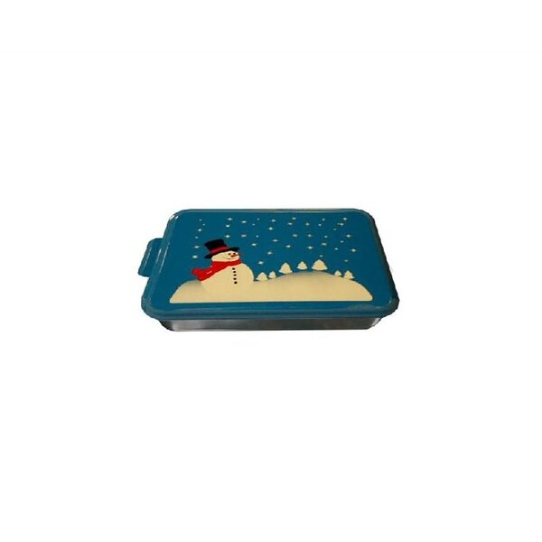 Non-Stick Rectangle Snow Man Cake Pan by Nesco