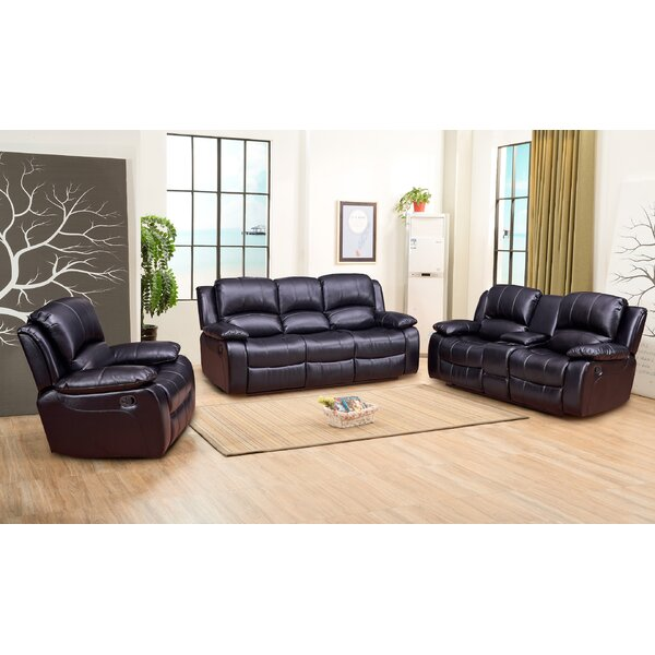 Dowdle 3 Piece Living Room Set by Red Barrel Studio