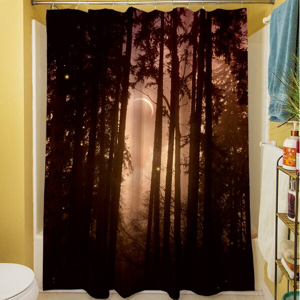 Forest Skyline Shower Curtain by Manual Woodworkers & Weavers