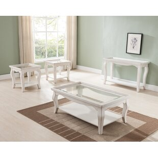 Check Prices Aguirre 3 Piece Coffee Table Set By Highland Dunes
