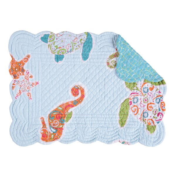 Brazell Placemat (Set of 6) by Highland Dunes