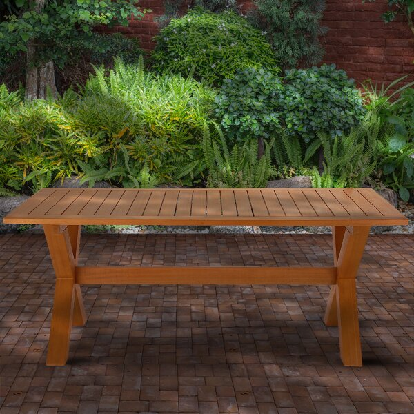 Brayson Wooden Dining Table by Union Rustic