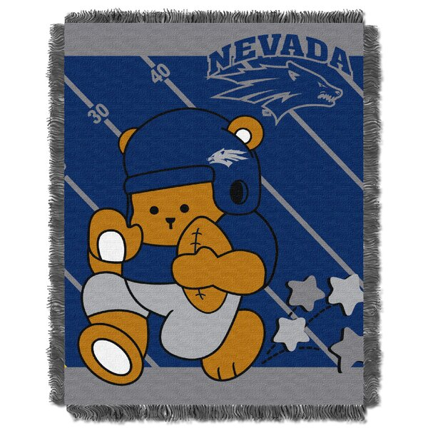 Collegiate Nevada Reno Baby Blanket by Northwest Co.