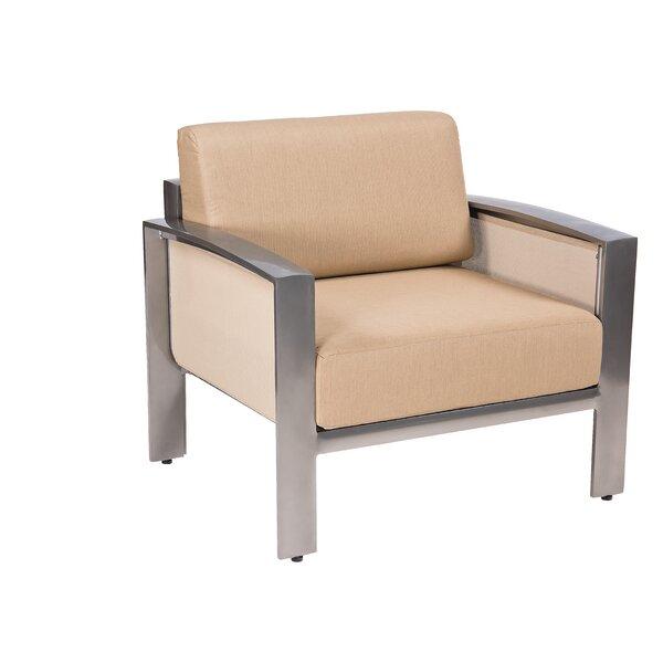 Metropolis Patio Chair by Woodard