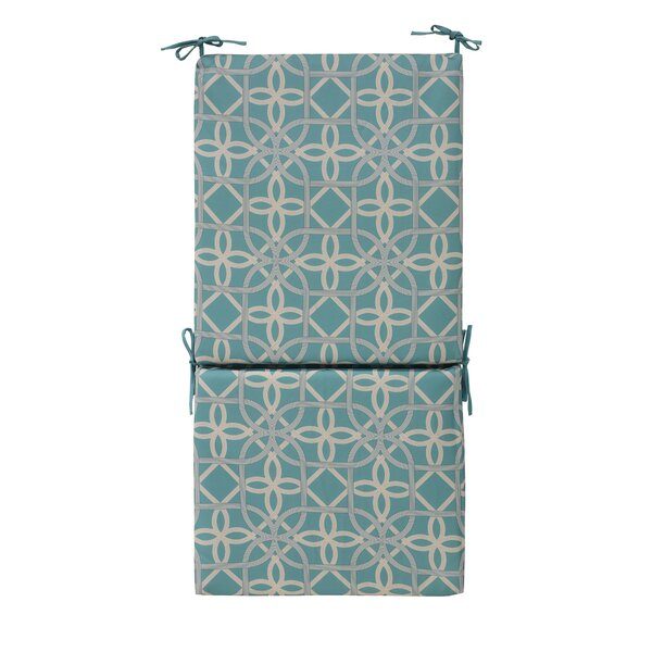 Indoor/Outdoor Dining Chair Cushion by Highland Dunes