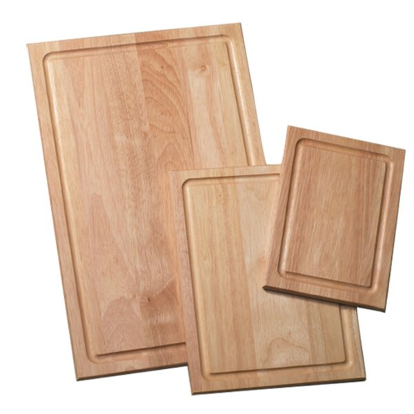 3 Piece Wood Cutting Board Set by Farberware