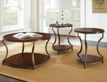 Isabelle 3 Piece Coffee Table Set by Andover Mills