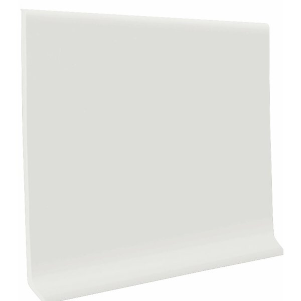 0.13 x 48 x 4 Cove Molding in White (Set of 30) by ROPPE