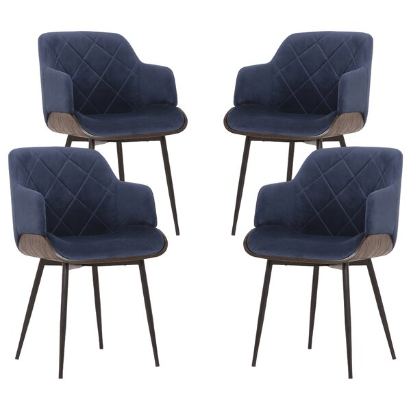 Stecker Upholstered Dining Chair (Set of 4) by Brayden Studio