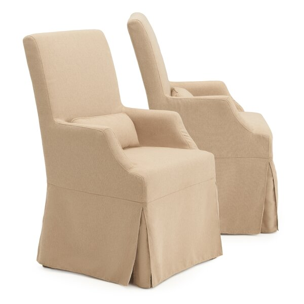 Milo Upholstered Dining Chair (Set of 2) by One Allium Way
