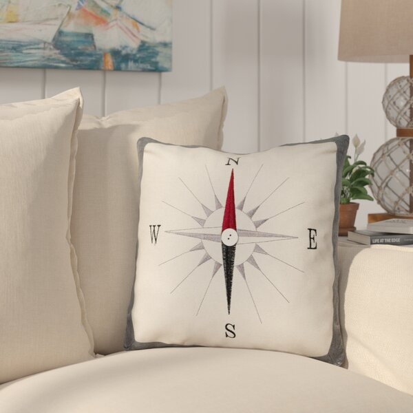 Odonnell Throw Pillow by Longshore Tides