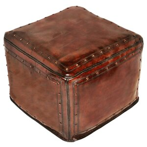 Leather Ottoman New World Trading